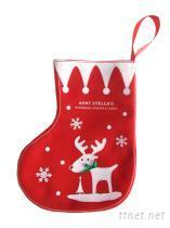 聖誕襪造型禮品包裝袋