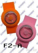 時尚硅膠手表 F2-A