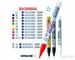 SNOWMAN.细油漆笔