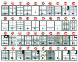 鐳射/噴墨/影印三用電腦標籤