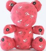 搖滾娃娃-紅熊熊(mp3喇叭)