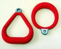 PVC塑膠披覆,吊環,體操設備