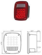 吉普車用車尾燈