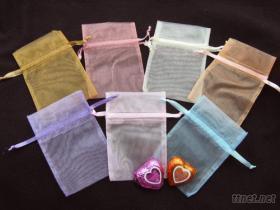 束口袋/纱袋/礼品袋/包装袋/喜糖袋