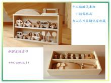 精緻手工木製玩具-汽車套組
