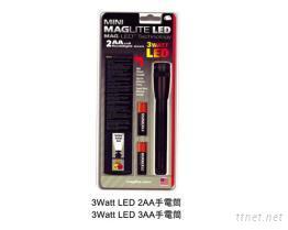 3 Watt超亮LED手電筒