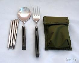 三件式休閒外出食具組