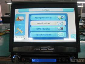 單錠車載DVD、GPS(帶藍牙、電視)
