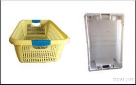 塑胶篮模具