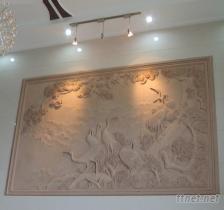 各種室裡外砂岩雕刻裝飾畫工藝品