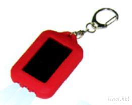 太陽能充電LED燈鑰匙圈