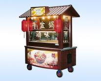 牛盆锅卤味餐车