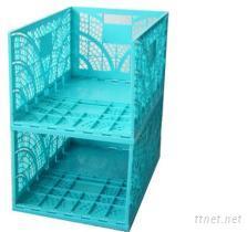 多用途收納-輕巧折疊籃(XL)
