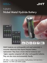 鎳氫充電電池全系列產品