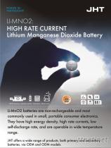 高電流鋰錳扣式電池