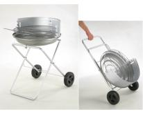圆型折叠烤肉炉 (BBQ)