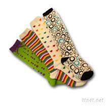 童裝提花針織長襪