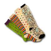童装提花针织长袜