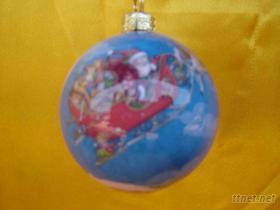 貼畫系列聖誕彩球