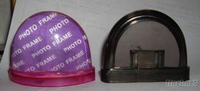 塑料相片水球冰箱貼