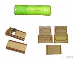 造型隨身碟(竹木外殼)