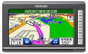 GPS導航儀(7吋帶藍牙/AV/FM/內置鋰電池)