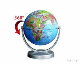 教學專用學生地球儀14CM (水藍色)