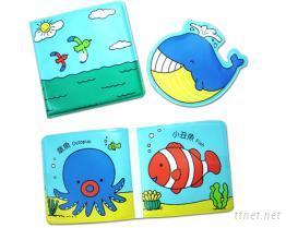 【風車圖書】鯨魚愛噴水(雙語噴水洗澡書)