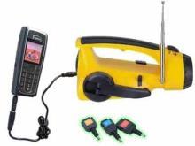 手电筒收音机