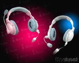 單拉伸縮線應用之耳機