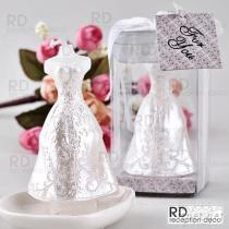 婚紗禮服蠟燭