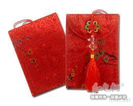 梅花布葫蘆-小紅包袋