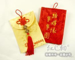 結緣雙福-小紅包袋