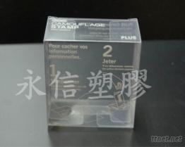 PVC.PET手工摺疊盒