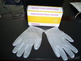 有粉PVC手套