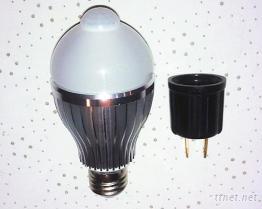 8瓦LED感應球泡燈