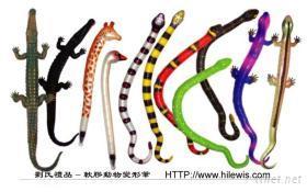 軟膠動物變形筆