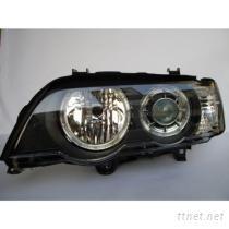 BMW寶馬X5舊款E53專用高品質雙光圈黑底投射大燈組