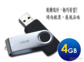 炫風旋蓋式4G隨身碟 (PD-007)