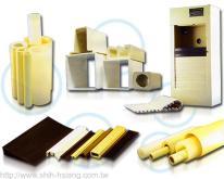 塑膠異型押出, ABS管, HIPS管, PE管