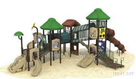 遊藝設施,戶外遊樂設備,大型兒童遊樂設施,小博士,淘氣堡(翻斗樂),充氣彈跳(氣模)