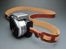 真皮相机背带