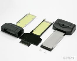 電腦週邊外接卡 Expresscard 34 mm to D-Sub 25/44Pin 規格