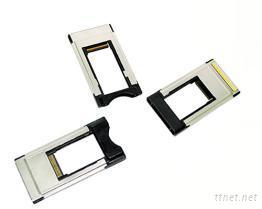 电脑外围外接卡 Expresscard/转接 PCMCIA 读卡机(U型卡)