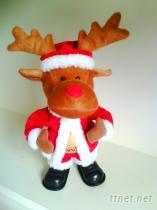 蹦跳聖誕麋鹿