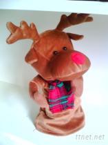 旋轉聖誕麋鹿