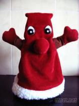 蹦跳聖誕帽