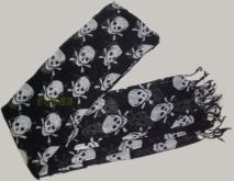骷髏頭圍巾 FS-101#