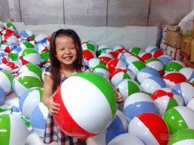 沙灘球, 海灘球, 充氣球