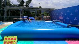 大型充氣游泳池